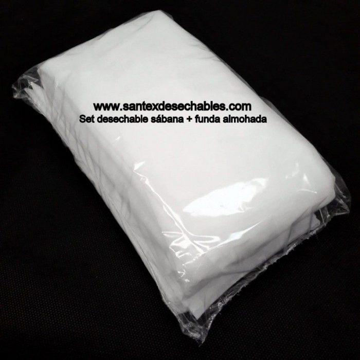 Set sábana + funda de almohada - desechable caja 150 uds.