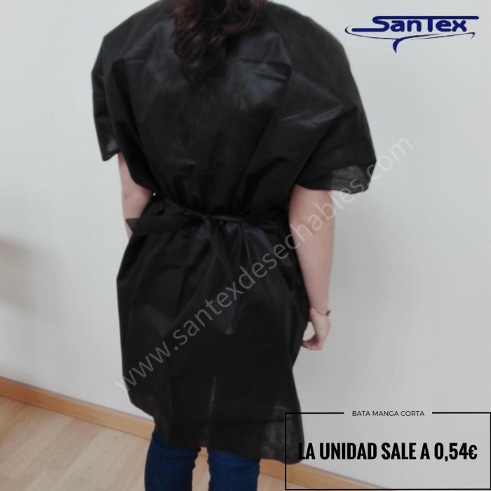 Bata Santex desechable apertura delantera 30gr. Extra - Caja 200 uds
