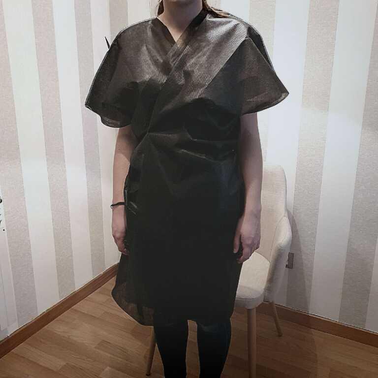 Bata o kimono desechable