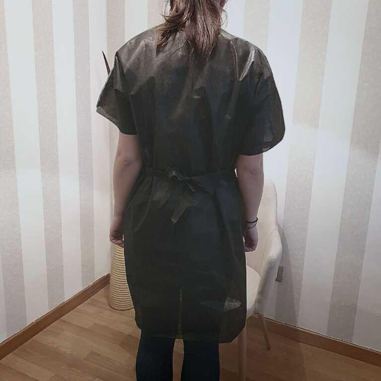 Bata o kimono desechable peluquerías