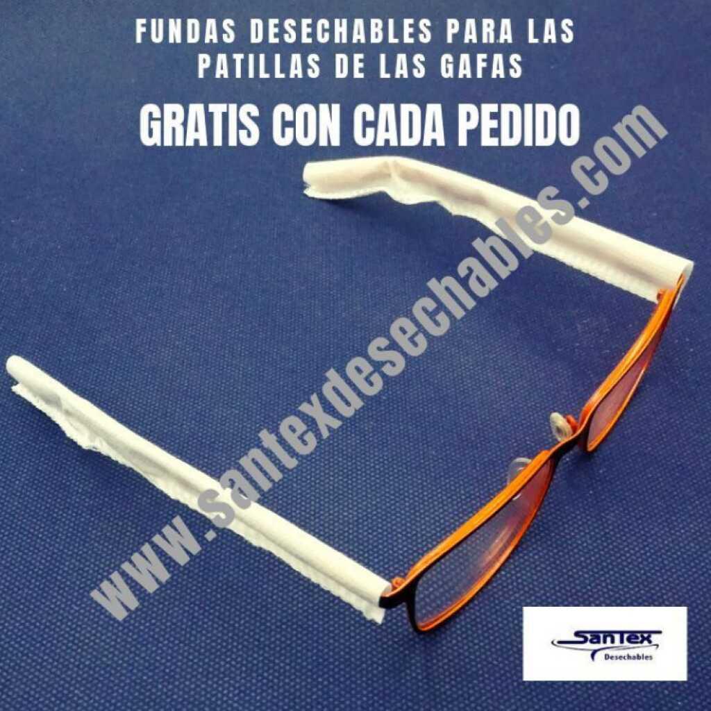 Fundas desechables protectoras de gafas