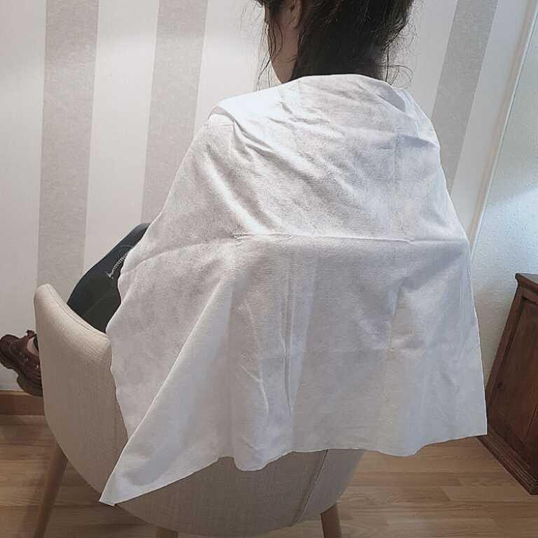 Toallas desechables para peluquería