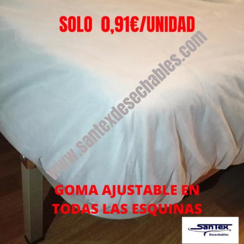 SÁBANAS DESECHABLES CAMA 135 Y 150
